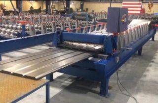 ساخت دستگاه تولید ورق دامپا طولی